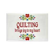 Quilting Joy Rectangle Magnet (100 pack)