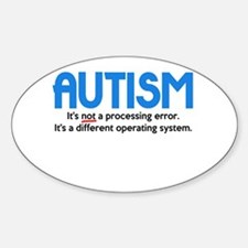 Autism Not a Processing Error Decal