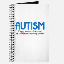 Autism Not a Processing Error Journal