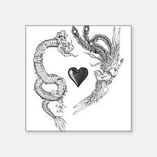 longfeng heart Sticker