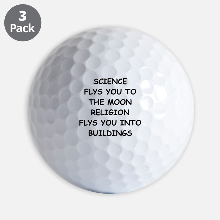 science Golf Ball
