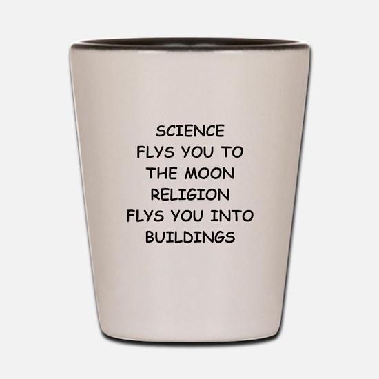 science Shot Glass