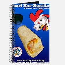 Funny Brown chicken Journal