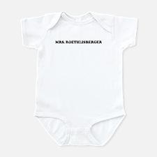 MRS. ROETHLISBERGER Infant Bodysuit