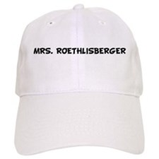 MRS. ROETHLISBERGER Baseball Cap