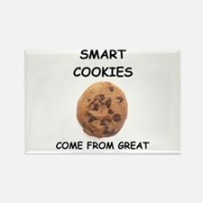 smart cookie Rectangle Magnet
