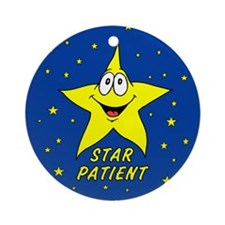 Star Patient Ornament (Round)