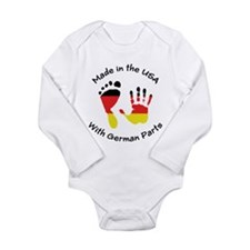 Made With German Parts Infant Creeper Body Suit