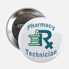 "pharmacy technician 2.25"" Button (10 pack)"