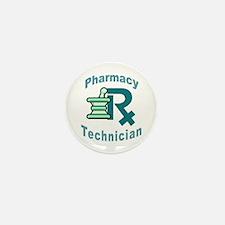 pharmacy technician Mini Button (10 pack)