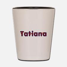 Tatiana Red Caps Shot Glass