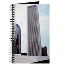 Low angle view of skyscrapers in a city, A Journal