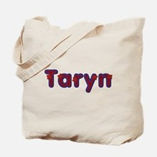 Taryn Red Caps Tote Bag