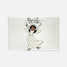 Bride II (African American) Rectangle Magnet