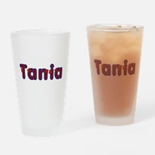 Tania Red Caps Drinking Glass