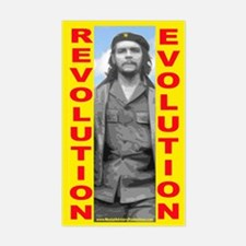Che Revolution/Evolution Rectangle Decal