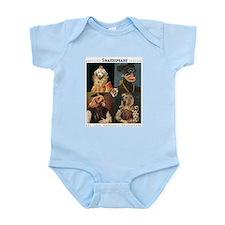 MD Shakespeare Dogs Infant Bodysuit