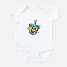 Spinning Dreidel Infant Bodysuit