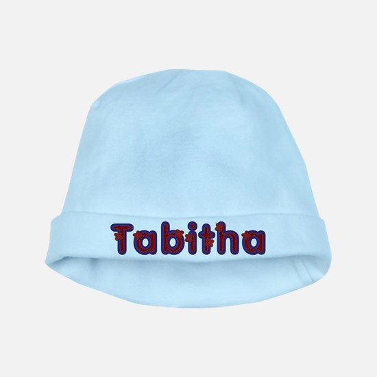 Tabitha Red Caps baby hat