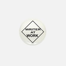 Writer at Work Writer's Mini Button (10 pack)