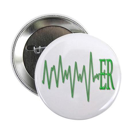 """ER EKG 2.25"""" Button (10 pack)"""