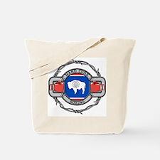 Wyoming Boxing Tote Bag