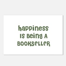 Happiness Is Being A BOOKSELL Postcards (Package o