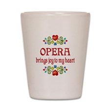 Opera Joy Shot Glass