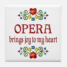 Opera Joy Tile Coaster