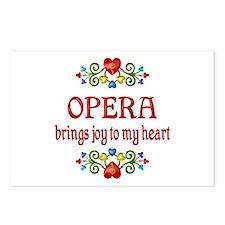 Opera Joy Postcards (Package of 8)