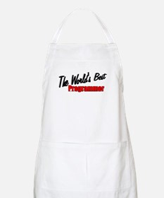 """The World's Best Programmer"" BBQ Apron"
