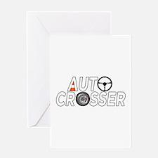 Auto Crosser Greeting Card