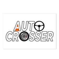 Auto Crosser Postcards (Package of 8)