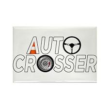 Auto Crosser Rectangle Magnet (10 pack)