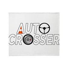 Auto Crosser Throw Blanket