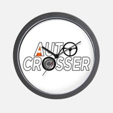 Auto Crosser Wall Clock