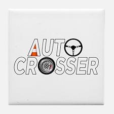 Auto Crosser Tile Coaster