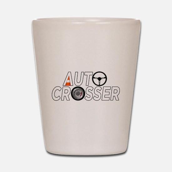 Auto Crosser Shot Glass