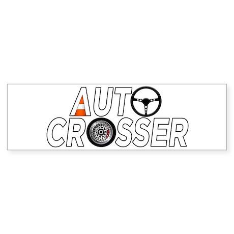 Auto Crosser Bumper Sticker