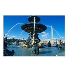 fountain CONCORDE PLACE Postcards (Package of 8)