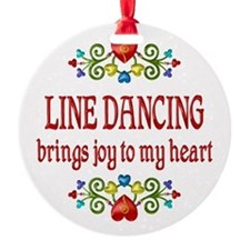 Line Dancing Joy Ornament