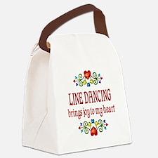 Line Dancing Joy Canvas Lunch Bag