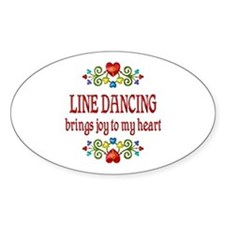 Line Dancing Joy Decal