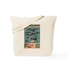 Aircraft of the RAF Tote Bag