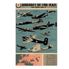 Aircraft of the RAF Postcards (Package of 8)
