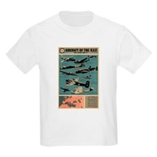Aircraft of the RAF Kids T-Shirt
