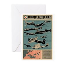 Aircraft of the RAF Greeting Cards (Pk of 10)