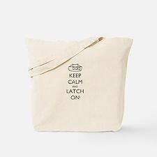 Cute Keep calm ibclc Tote Bag