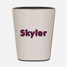 Skyler Red Caps Shot Glass