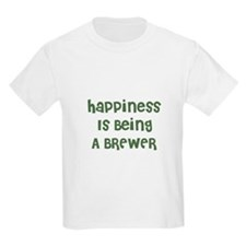 Happiness Is Being A BREWER Kids T-Shirt